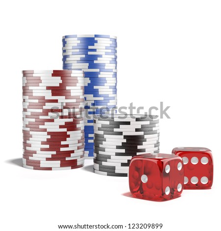 Casino concept - stock photo