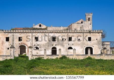 Casino del Duca. Mottola. Puglia. Italy. - stock photo