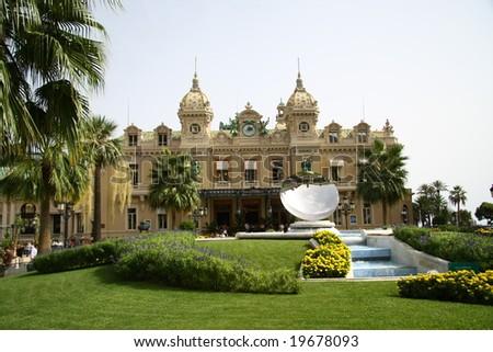 Casino in Monaco - stock photo
