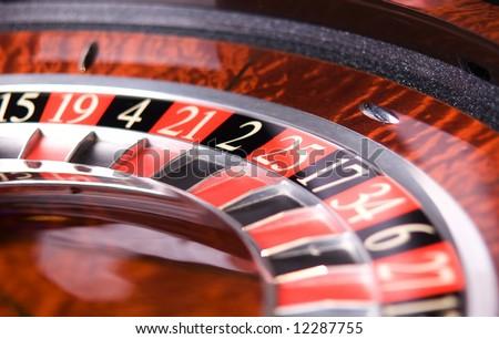 Casino, roulette - stock photo