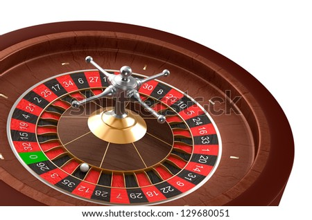 Casino roulette - stock photo