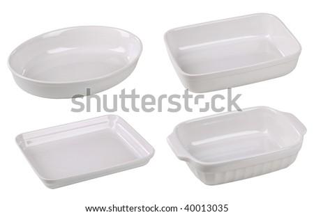 Casserole dishes - stock photo