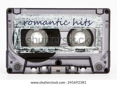 cassette tape - stock photo