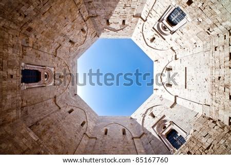Castel Del Monte - stock photo