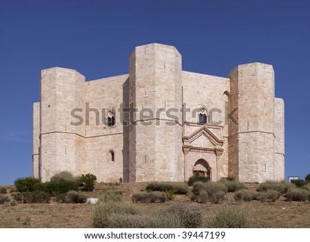 Castel del Monte, Apulia, Italy - stock photo