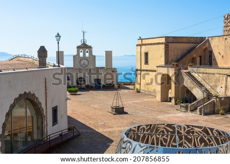 Castel Sant'Elmo, Naples, Italy - stock photo