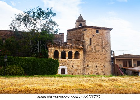 Castell de Pubol. Pubol is a small town located in comarca of Baix Emporda, in the province of Girona, Catalonia, Spain