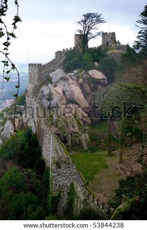 Castelo dos Mouros - stock photo