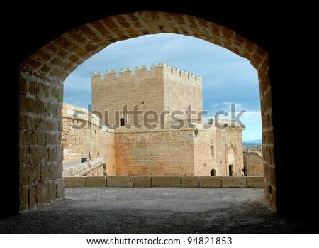 Castillo de Almería, Spain - stock photo
