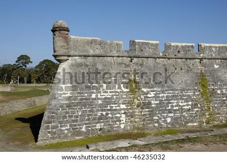 Castillo San Marco in St Augustine - stock photo