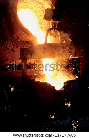 Casting of iron