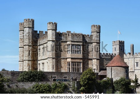 Castle - stock photo
