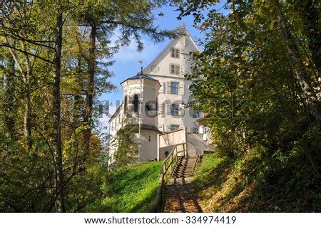castle Achberg,Germany - stock photo