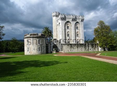 Castle Arteaga, Basque country, Spain - stock photo