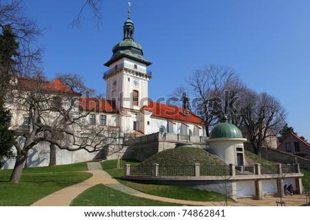 Castle Benatky nad Jizerou, Bohemia - stock photo