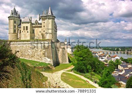blois castle stock images royalty free images vectors. Black Bedroom Furniture Sets. Home Design Ideas