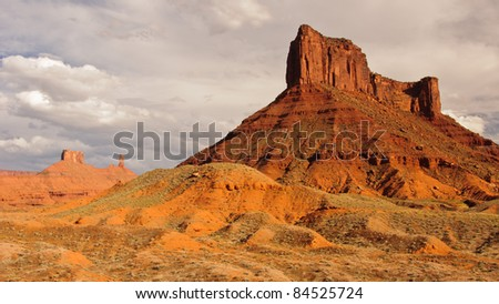 Castle Creek, Utah - stock photo