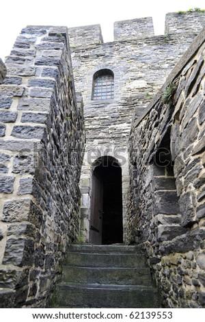 castle door - stock photo