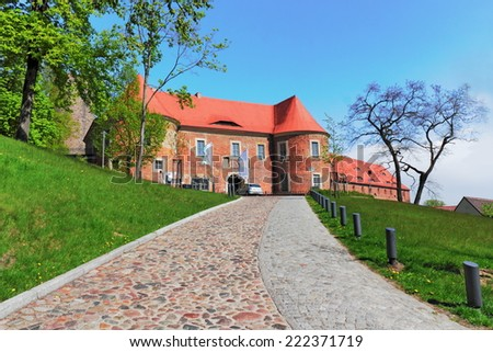 Castle Eisenhardt - stock photo