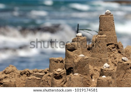 Castle from sand