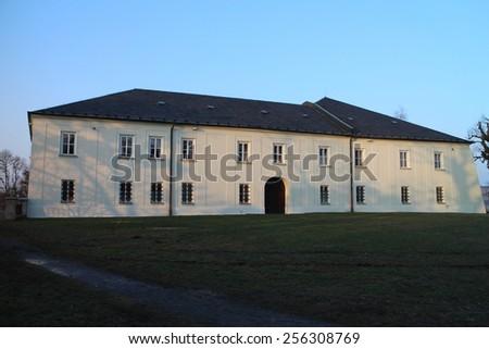 Castle Hradec nad Moravicí, Czech republic - stock photo