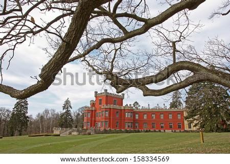 Castle Hradek u Nechanic - stock photo
