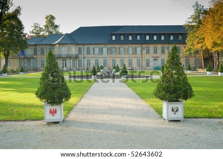 Castle in Bayreuth/Germany
