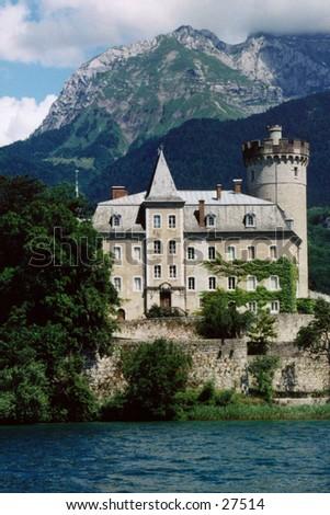 Castle in Germany - stock photo