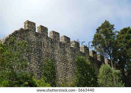 Castle in Penela, Portugal - stock photo