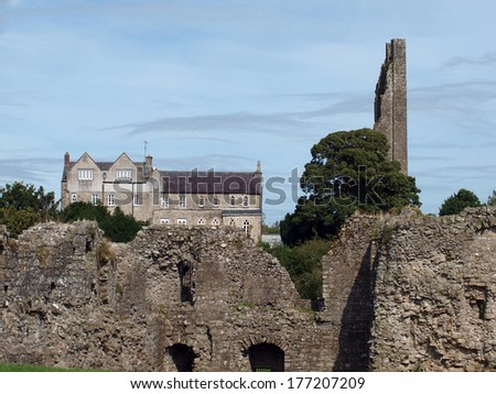 Castle Ireland - stock photo