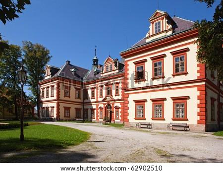 Castle Jilemnice, Bohemia - stock photo