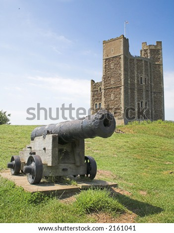 castle keep and cannon