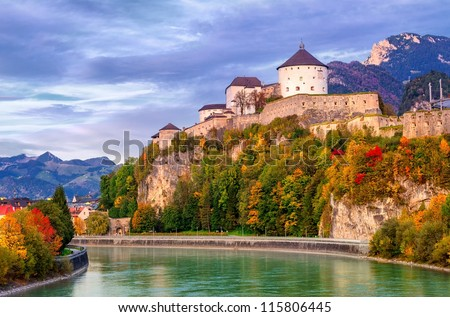 Castle Kufstein, Austria - stock photo
