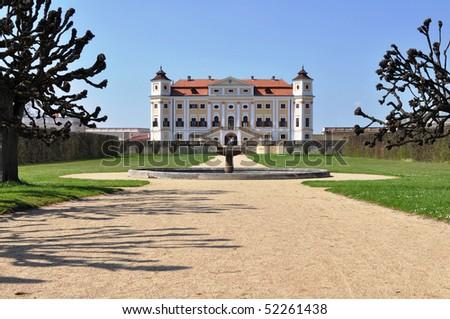 castle Milotice, Czech republic - stock photo