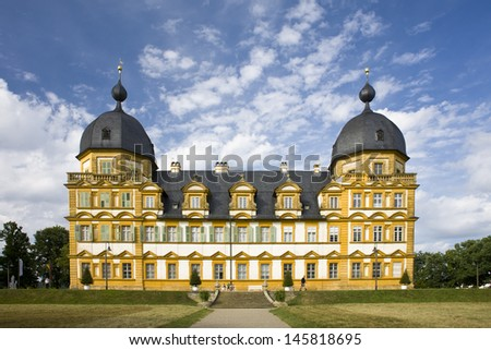 Castle near Bamberg (Franconia, Germany) - stock photo