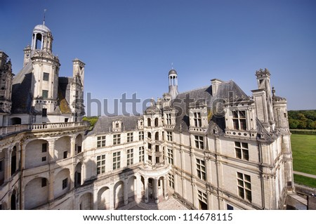 Castle of Chambord, France