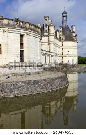 Castle of Chambord, France, Loire Valley - stock photo