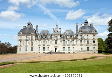 Castle of Cheverny, France - stock photo