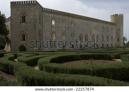 Castle of Donnafugata, Sicily, Italiy