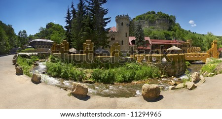 Castle of insidiousness and love - stock photo