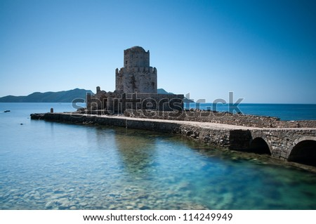 Castle of Methoni at Peloponnese, Greece