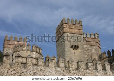 Castle of San Marcos, Cadiz (Spain) - stock photo