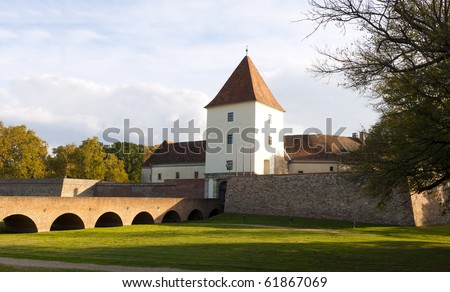 Castle of Sarvar at fall, West Hungary