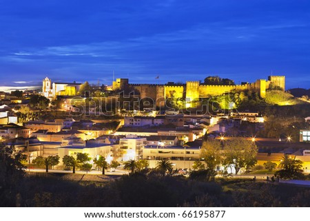 Castle of Silves, Algarve, portugal