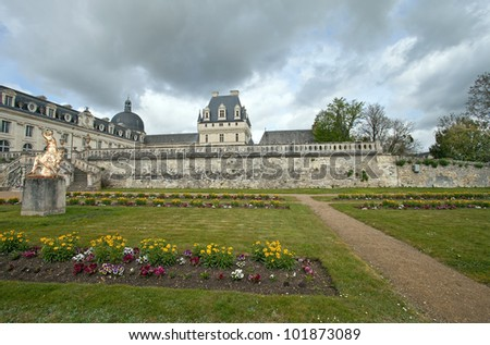 castle of Valencay, France - stock photo