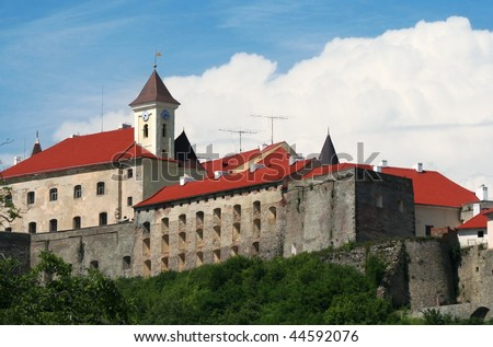 Castle Palanok, Mukachevo, Ukraine - stock photo