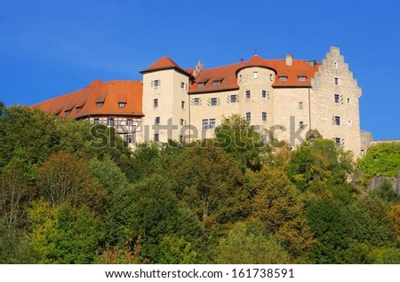 castle Rabenstein  - stock photo