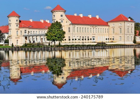 Castle Rheinsberg - stock photo