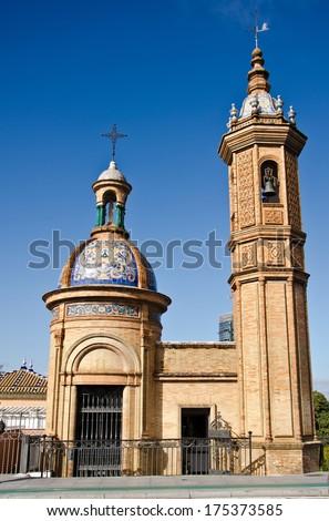 Castle San Jorge, Seville - Spain. - stock photo