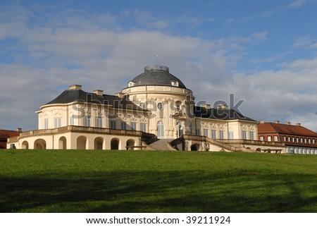 castle Solitdude near Stuttgart - stock photo